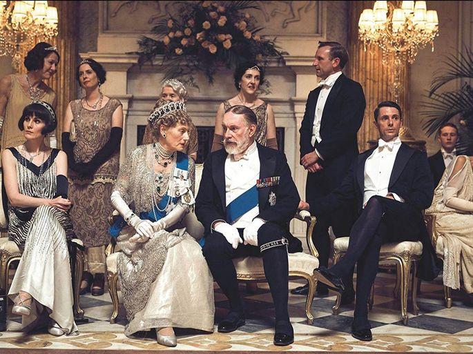 Сцена из 'Аббатство Даунтон', сериал о жизни британской аристократической семьи Кроули, 2011 – 2016 гг., создатель Джулиан Феллоуз.