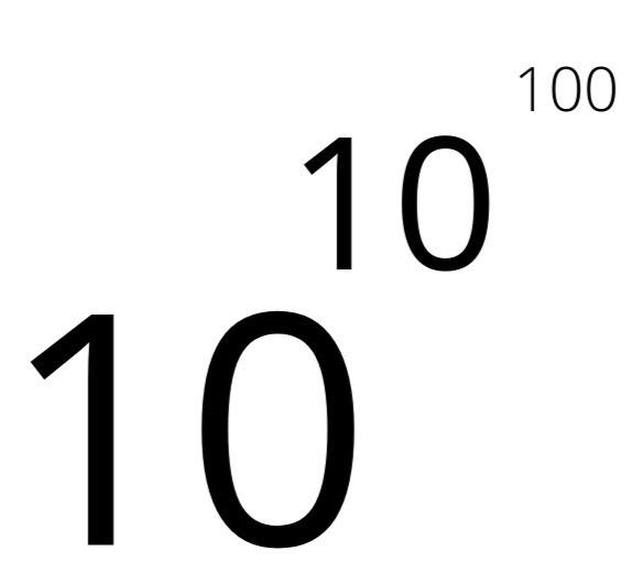10 в степени гугол