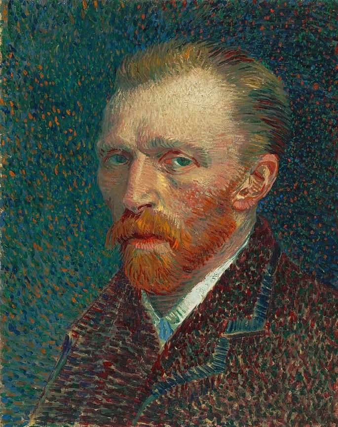 Автопортрет, Винсент ван Гог (1853–1890)