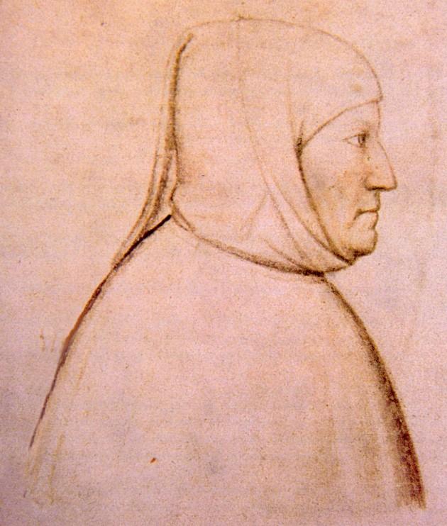 Итальянский поэт Франческо Петрарка