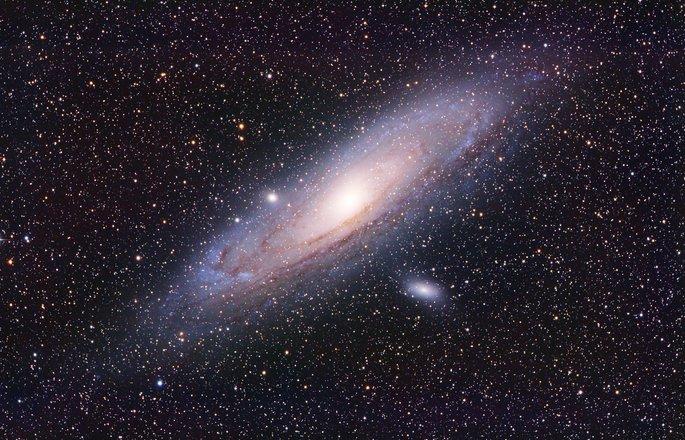 туманность андромеды галактика