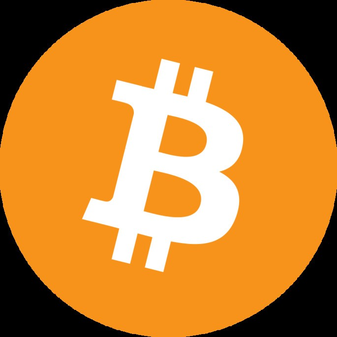 Таким образом обычно изображается валюта биткоин