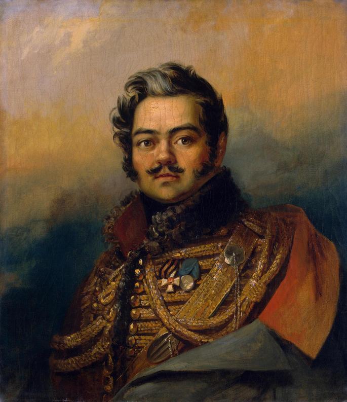 Портрет Дениса Васильевича Давыдова