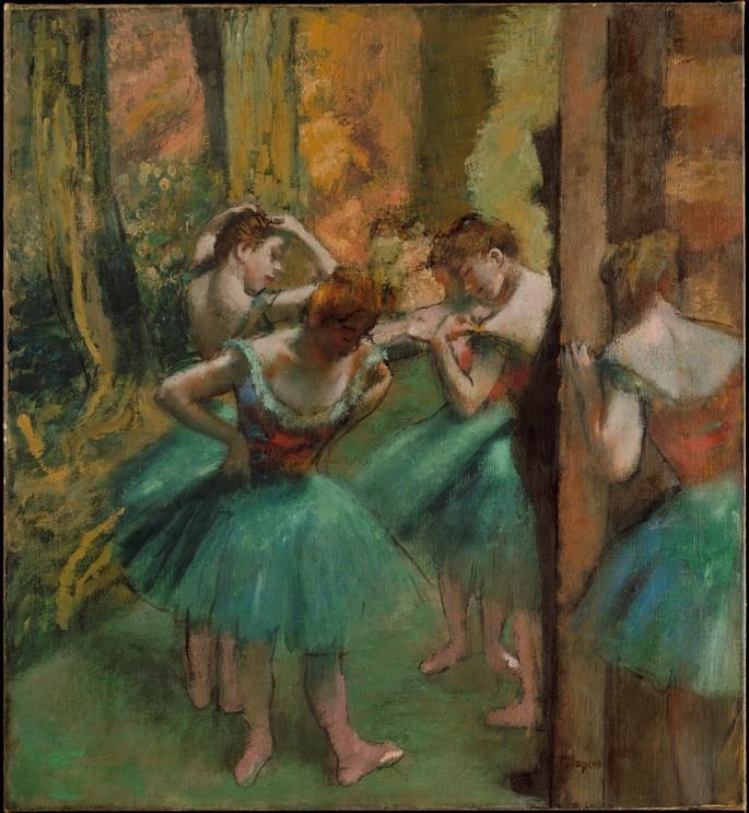 эдгар дега танцовщицы импрессионизм