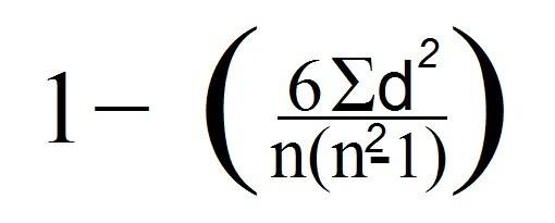 formula Spearman