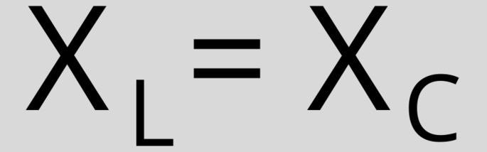 XL = XC