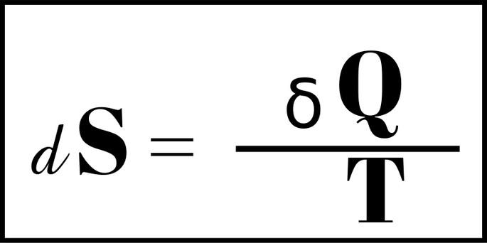 Формула Энтропия