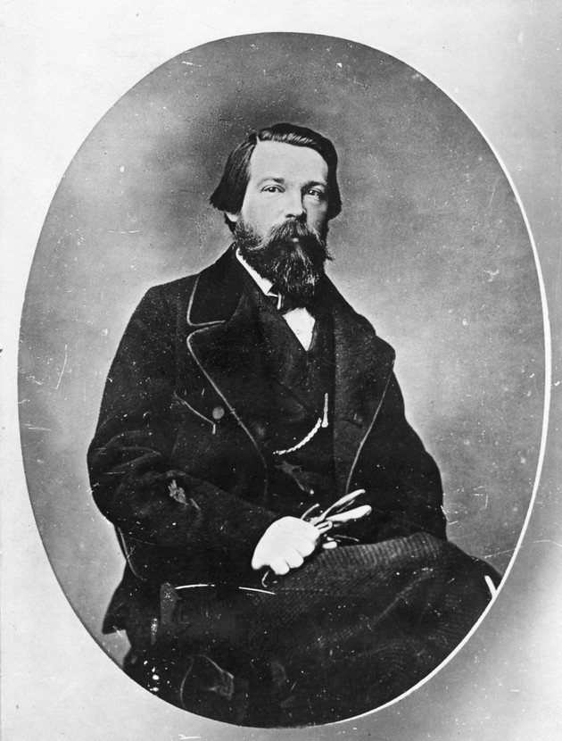 Фридрих Энгельс (1820—1895).