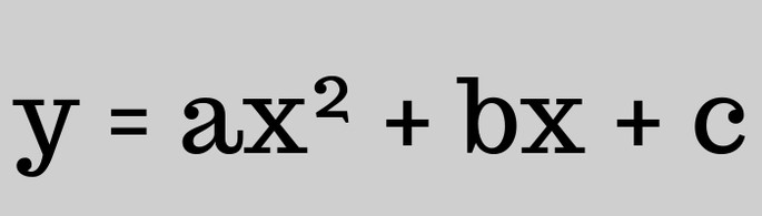 функция параболы