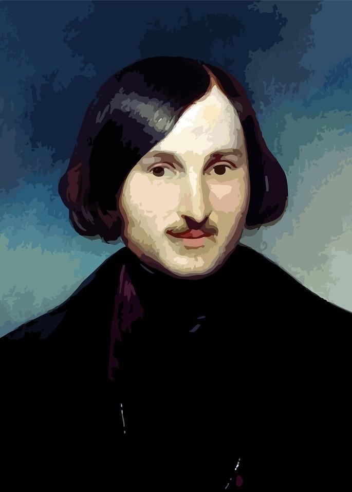Изображение Гоголя Н. В. Гоголь (1809–1852)