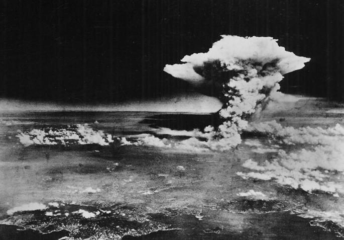 Взрыв Хиросима облако