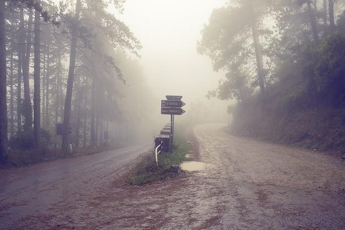 италия фата моргана туман