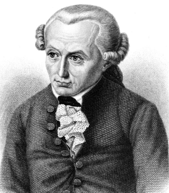 Немецкий философ Иммануил Кант (1724–1804)