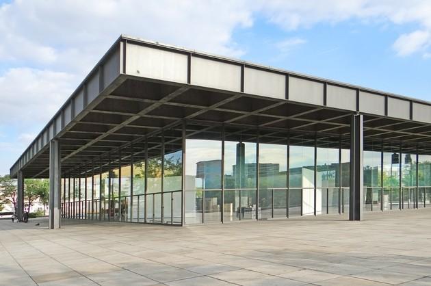 Новая национальная галерея Берлин
