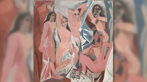 Авиньонские девицы (1907) Пабло Пикассо