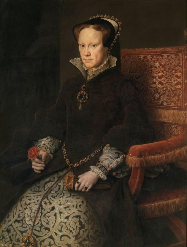 Королева Англии Мария I Тюдор (1516–1558)