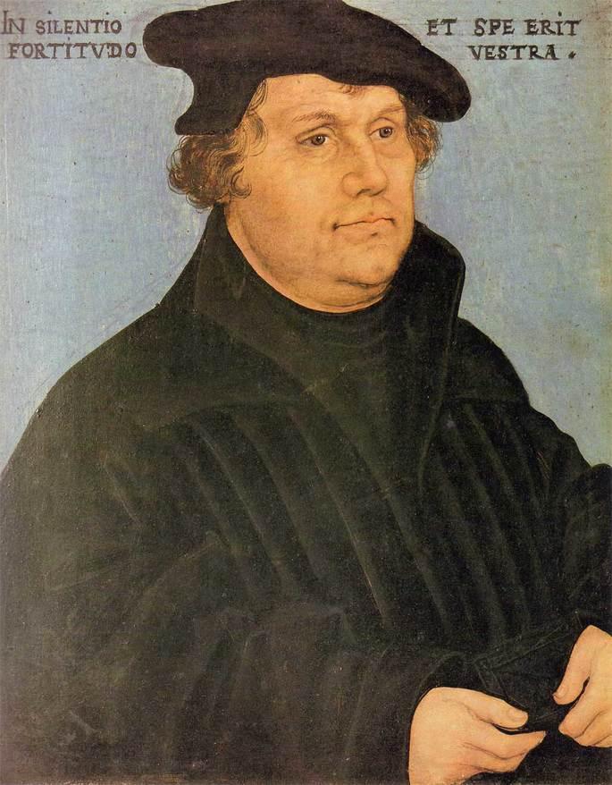 Мартин Лютер протестантизм