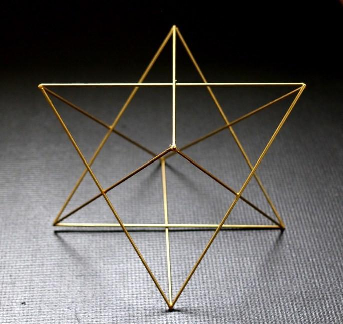 Меркава — это трёхмерное изображение Звезды Давида