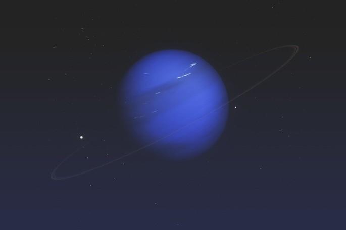 Планета Нептун в Солнечной системе
