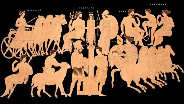 grecheskie bogi