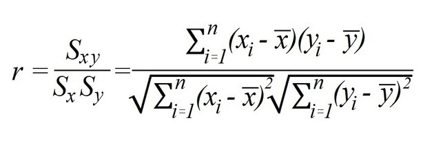 pearson formula