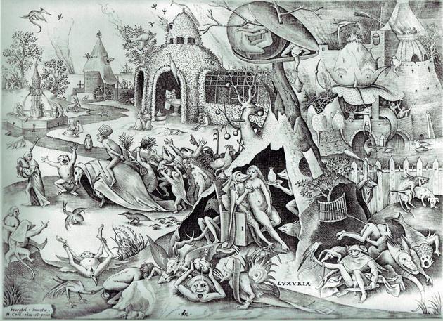 Питер Брейгель Семь смертных грехов