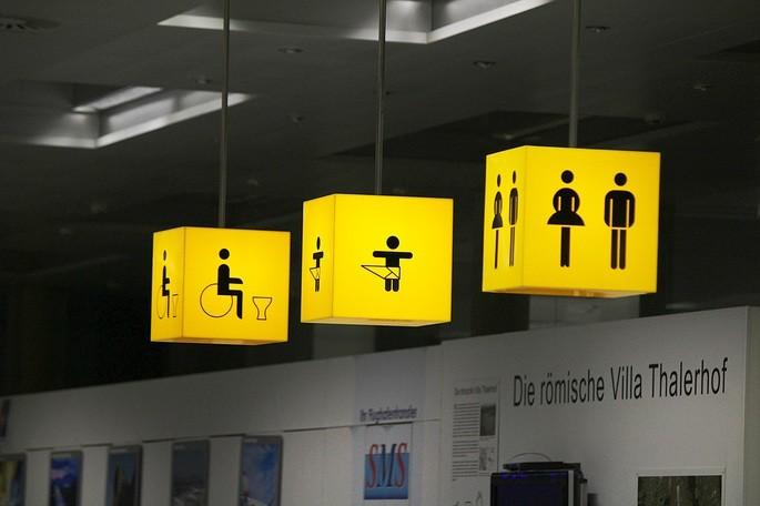 пиктограммы аэропорт