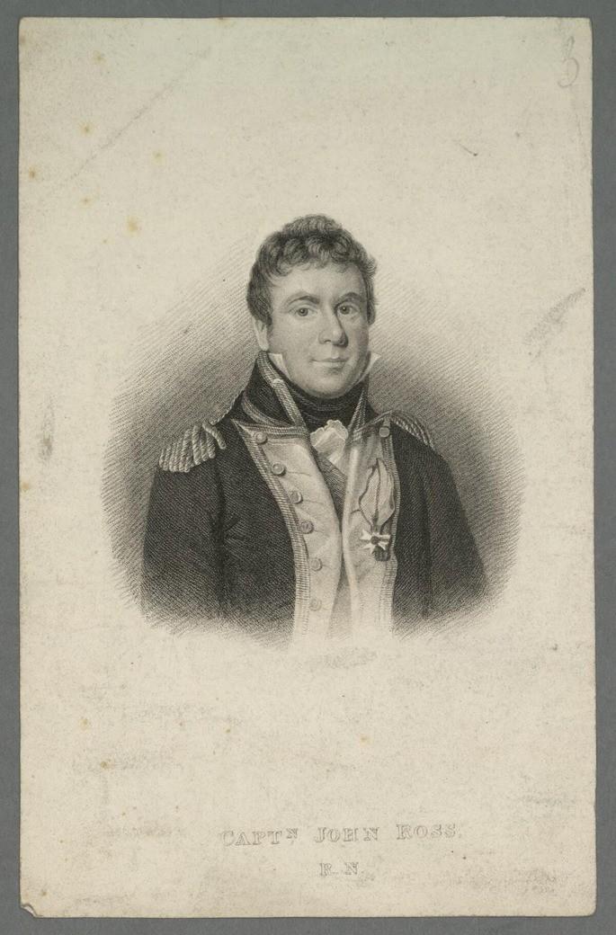 Капитан Джон Росс, около 1830 г.