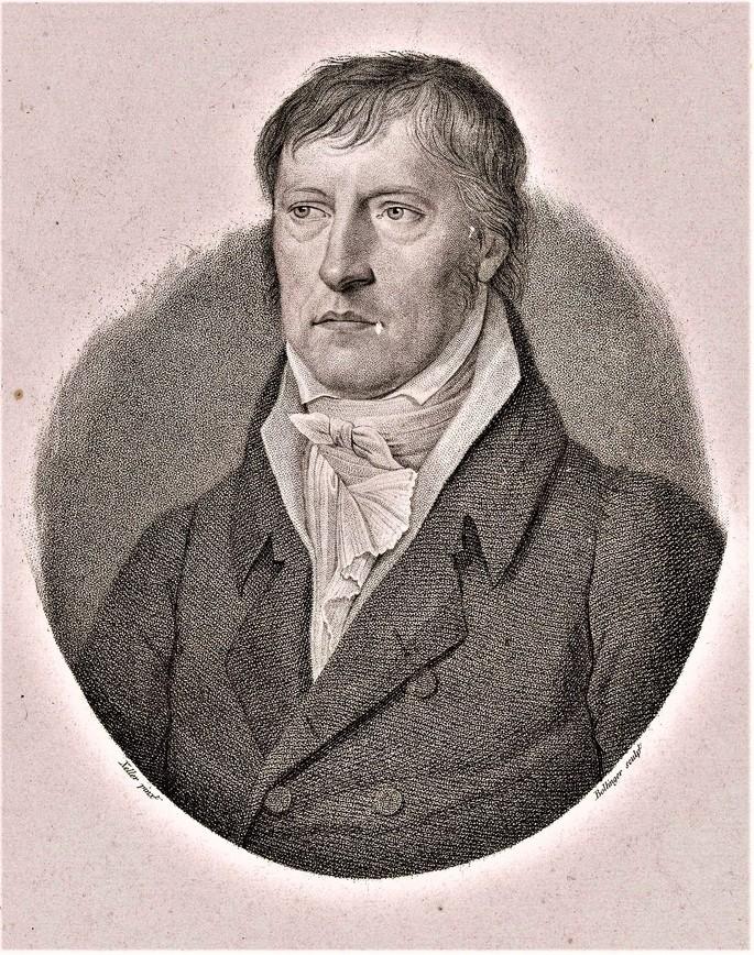Георг Вильгельм Фридрих Гегель (1770–1831 гг.) фотография