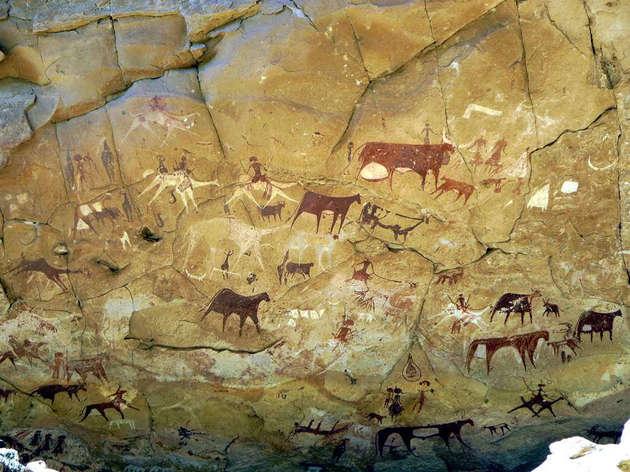 Доисторические наскальные рисунки