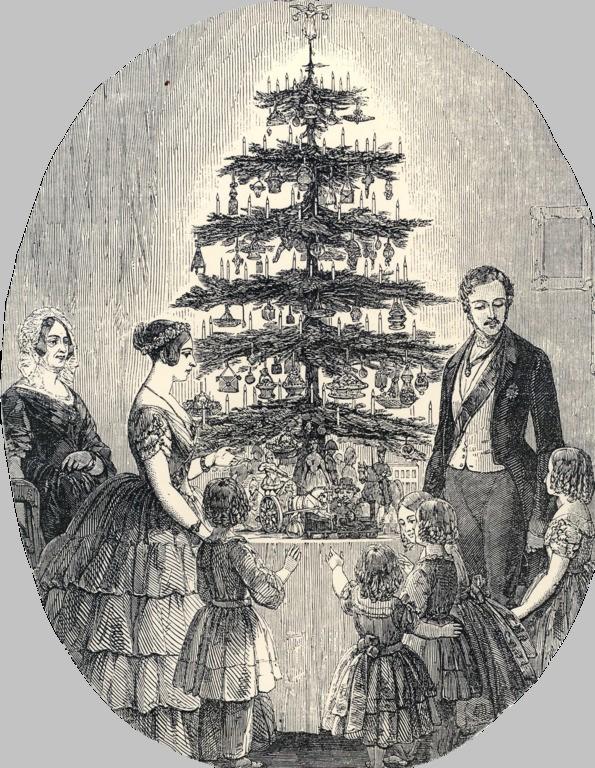 рождественская елка королева виктория