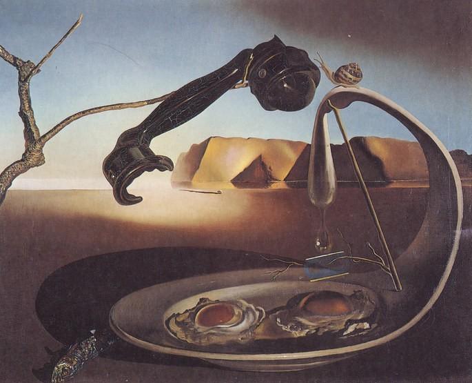 Сальвадор Дали, 'Высокое мгновение', 1938 г.