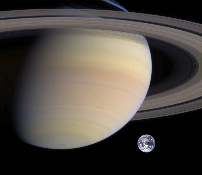 Планета Сатурн в Солнечной системе