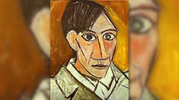 Автопортрет Пабло Пикассо кубизм
