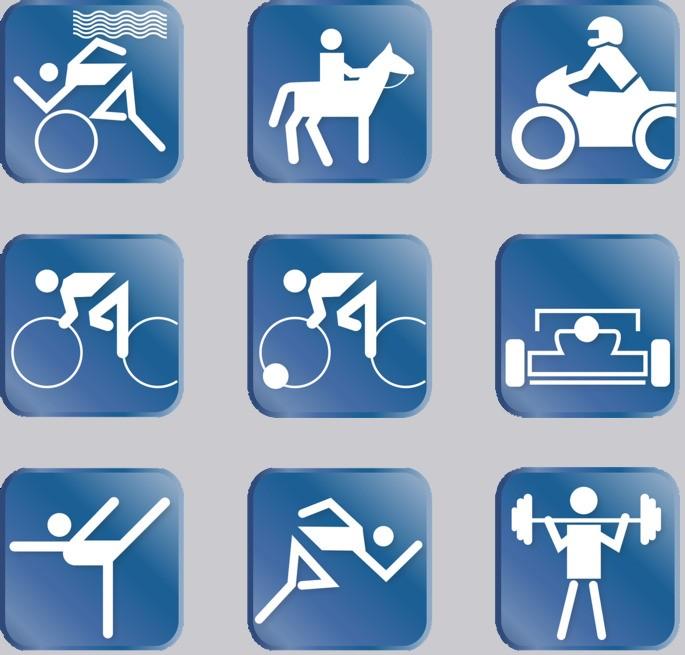 пиктограмма спорт