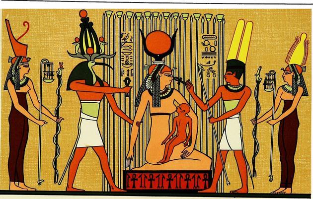 egipetskie bogi