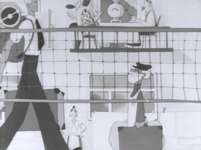 Мультипликационный фильм 'Дядя Стёпа', режиссёр Владимир Сутеев, 1939 год, Союзмультфильм