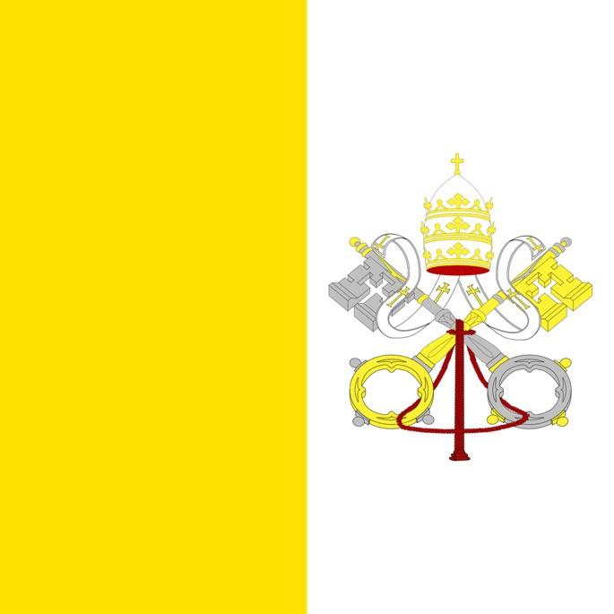 флаг ватикана