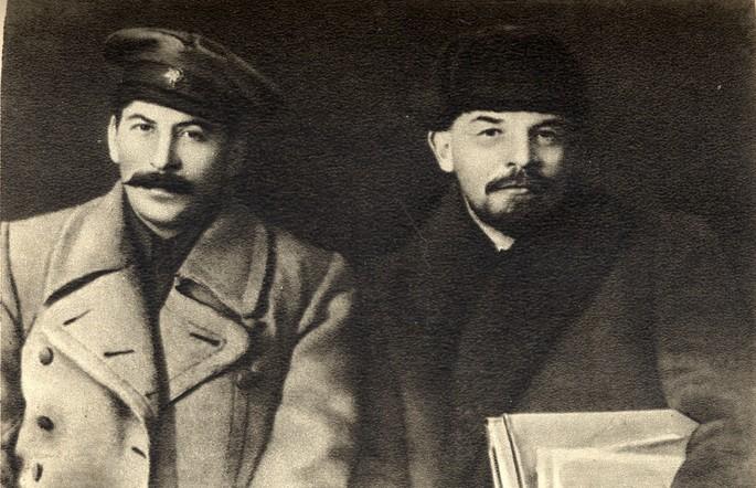 Сталин Ленин