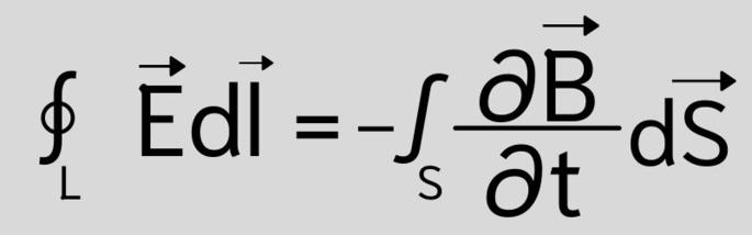 Второе уравнение Максвелла ∮Edl = -∫∂B/∂t dS
