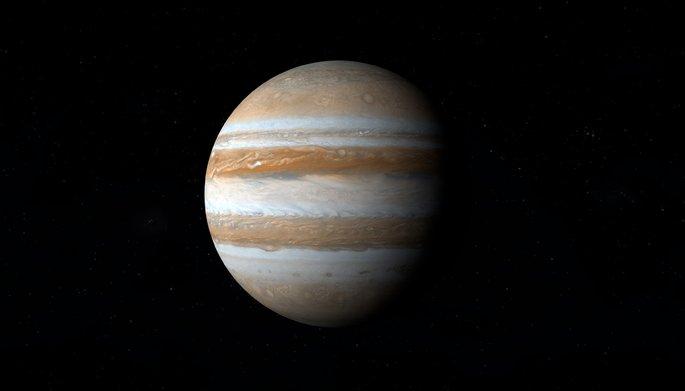 Планета Юпитер в Солнечной системе