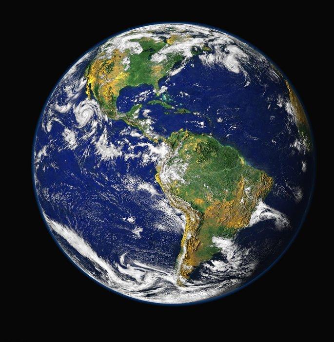 Планета Земля в Солнечной системе